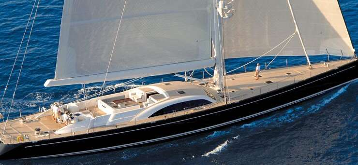 Italian luxury sailing boat for rent Forzatre