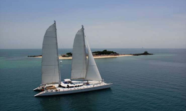 CHARTER: DOUCE FRANCE available in Fiji and the Tuamotus