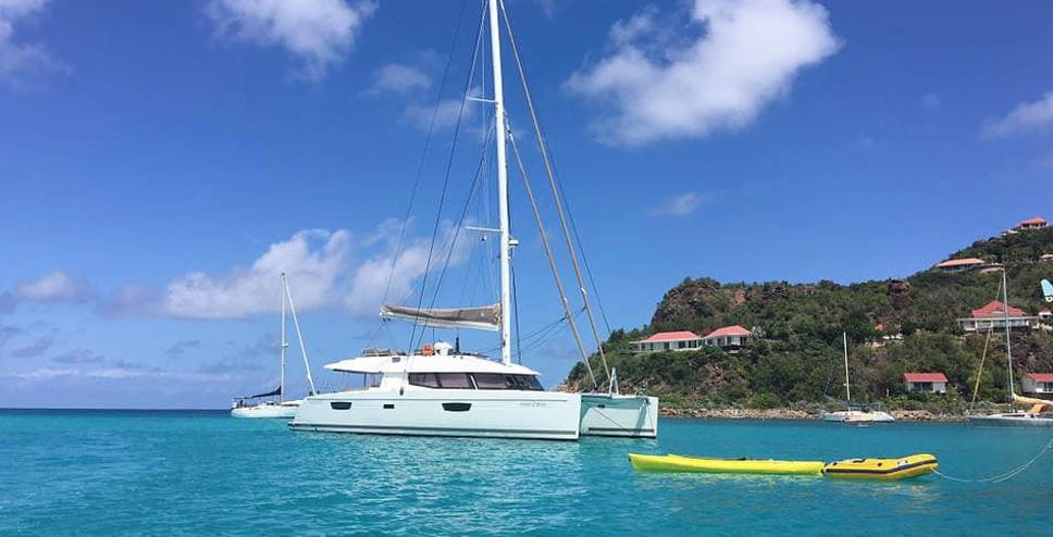 CHARTER: Amazing holiday, charter a catamaran in the Caribbean!