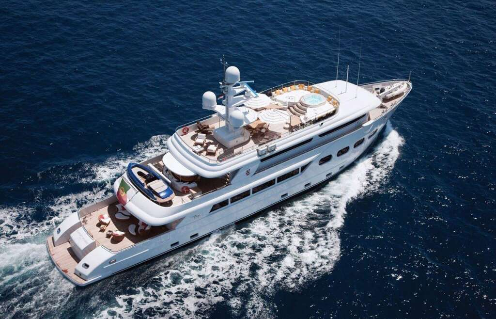 CHARTER: Baron Trenck available for events in 2017