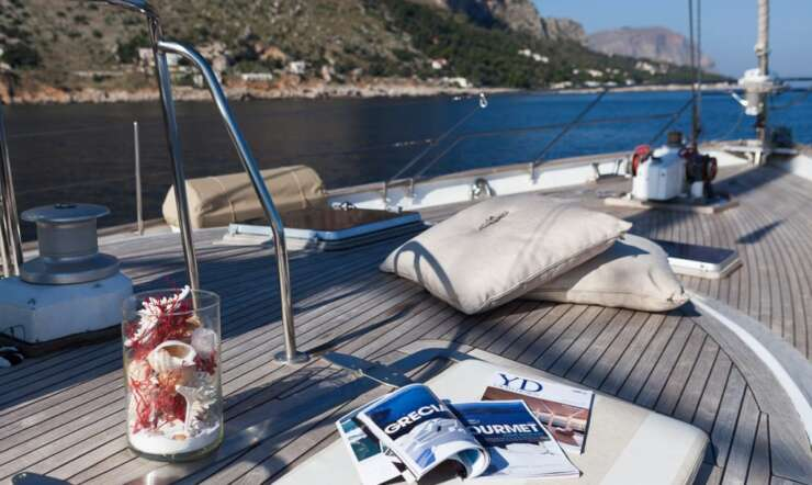 CHARTER: MY LOTTY is available in Sicily or Naples area
