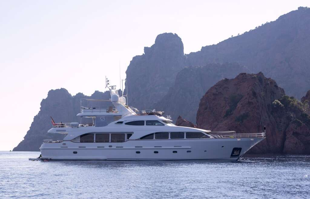 Charter: M/Y SALU available for summer 2018 in Mediterranean